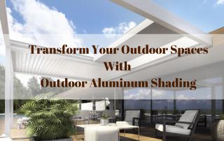 Outdoor Aluminum Shading